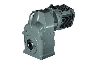 Motor liền hộp giảm tốc bánh răng xoắn trục âm - Series F